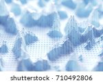3d illustration abstract image... | Shutterstock . vector #710492806