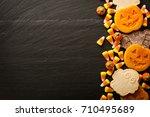 Halloween Pumpkin And Ghosts...