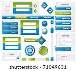 modern website template...   Shutterstock .eps vector #71049631