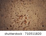 grunge concrete textures and... | Shutterstock . vector #710511820