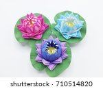 pink  purple and blue...   Shutterstock . vector #710514820