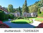 cernobbio  italy   august 30 ... | Shutterstock . vector #710536324