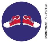 sneakers   Shutterstock .eps vector #710540110