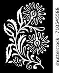 indian motif vector | Shutterstock .eps vector #710545588