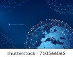modern vector design. the... | Shutterstock .eps vector #710566063