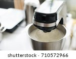 stand mixer in the bakery...   Shutterstock . vector #710572966