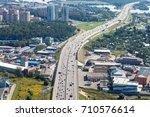 krasnogorsk  russia   august 18 ... | Shutterstock . vector #710576614