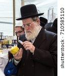 jerusalem  israel   oktober 16  ... | Shutterstock . vector #710585110