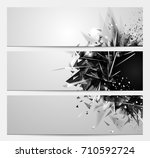geometric abstract backgrounds... | Shutterstock .eps vector #710592724