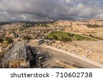 view around the old city of... | Shutterstock . vector #710602738