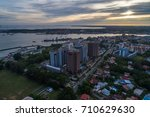 august 23  2017   aerial view... | Shutterstock . vector #710629630