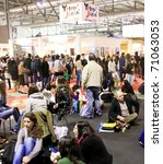milan  italy   february 20 ... | Shutterstock . vector #71063053