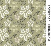 floral seamless pattern. vector ...   Shutterstock .eps vector #710636026