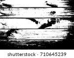 distressed grainy wood overlay... | Shutterstock .eps vector #710645239