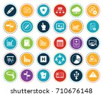 information icons | Shutterstock .eps vector #710676148