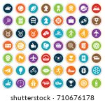 sports icons | Shutterstock .eps vector #710676178
