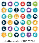 money icons | Shutterstock .eps vector #710676283