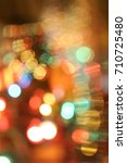 abstract circular bokeh... | Shutterstock . vector #710725480