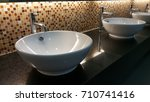 art  sink  basin toilet light | Shutterstock . vector #710741416