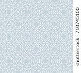 seamless floral pattern... | Shutterstock .eps vector #710745100