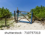 tropical beach in boipeba... | Shutterstock . vector #710757313