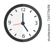 clock icon | Shutterstock .eps vector #710775658