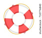 life buoy  icon | Shutterstock .eps vector #710776840