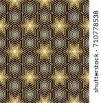 geometric seamless pattern | Shutterstock .eps vector #710778538