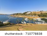 escarpas do lago is a leisure ... | Shutterstock . vector #710778838