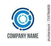 rotor logo | Shutterstock .eps vector #710786800