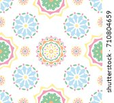 seamless tiling texture with... | Shutterstock . vector #710804659