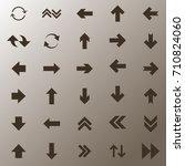 traffic sign vector background | Shutterstock .eps vector #710824060