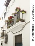 Detail Of A Typical House In...