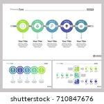 tree management slide templates ... | Shutterstock .eps vector #710847676