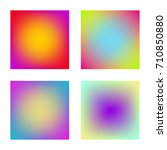 square gradient set with modern ...
