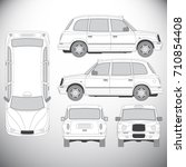 automobile.template for graphic ... | Shutterstock . vector #710854408