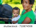 portrait of unidentified aeta... | Shutterstock . vector #710874508