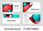 abstract vector layout... | Shutterstock .eps vector #710874883