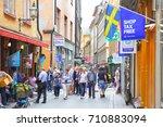 stockholm  sweden   july 25 ...   Shutterstock . vector #710883094