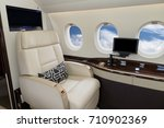 comfortible cabin chair in a... | Shutterstock . vector #710902369