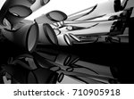 abstract dynamic interior with... | Shutterstock . vector #710905918