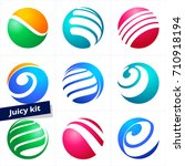 vector design element  business ... | Shutterstock .eps vector #710918194