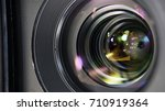 camera lense | Shutterstock . vector #710919364