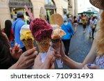Italian Gelato Ice Cream.
