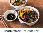 cricket insect  corn  red bean  ... | Shutterstock . vector #710936779