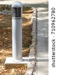 Small photo of Bollards lighting, illuminate and accent landscaping, walkways, parking areas