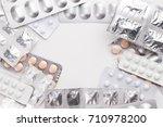 medicine packaging expired. | Shutterstock . vector #710978200