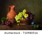 Still Life With Pears And...