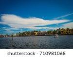 fort lauderdale  usa   july 11  ... | Shutterstock . vector #710981068