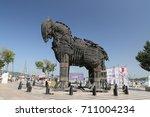 canakkale  turkey   july 02 ...   Shutterstock . vector #711004234